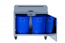 Presse-agrumes-pro-ol-301-meuble-double-en-acier-inoxydable